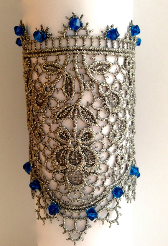 Vintage Lace Sewn Cuff on Etsy
