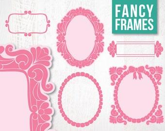 Border Frame Fancy SALE Frames Borders Digital Clipart For Scrapbooking And Crafting Instant Download
