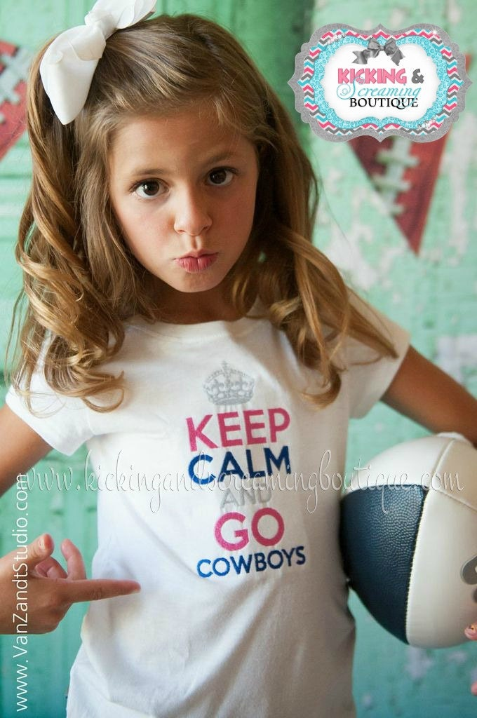 Cowboys Shirts For Girls Cowboys Embroidered Shirt