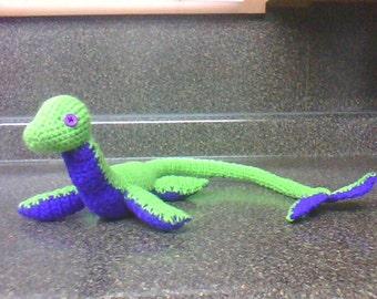 Long laying custom creature