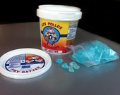 Breaking Bad Los Pollos Hermanos Mini 'Fry Batter' Tub includes 1oz Blue Sky Meth Candy