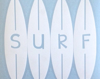 Surfboard Decal- SURF