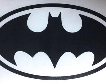 Superhero Decal- Batman Logo