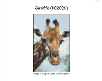 MosaiCraft Pixel Craft Mosaic Art Kit 'Giraffe' (Like Mini Mosaic and Paint by Numbers)