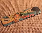 Vintage Aquaman Comic Bookmark