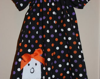 Girl's Halloween Peasant Dress