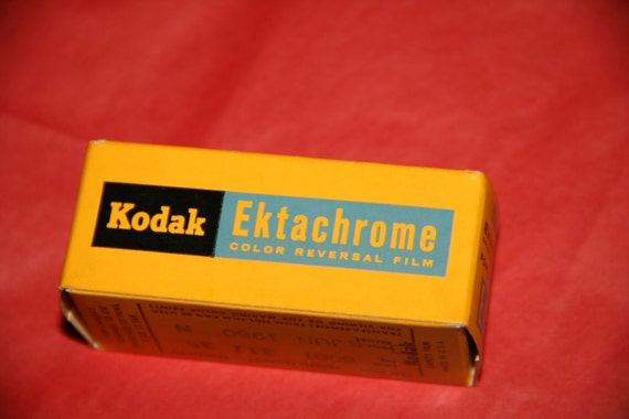 Ektachrome Color Reversal Film (E127) by Kodak, Unused and sealed -REDUCED PRICE-