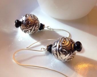 Fancy dangled earring