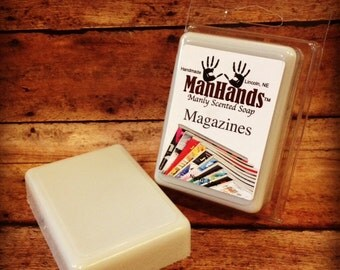 Magazines Scented Soap 3 oz. Bar