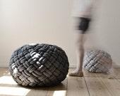 KNOTTY floor cushion (2 sizes, 2 colours)