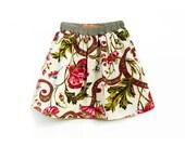 RESERVED FOR G / Little Girls Skirt, Toddler Summer Outfit, Toddler Skirt, 3-4 Years