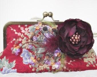 Autumn Wedding / Bridesmaid Gift / Fall Bride / Autumn Handbag / Farmhouse Wedding
