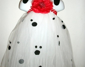 101 Dalmations inspired tutu dress costume
