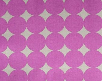 SALE True Colors Mod Dot in Orchid by Heather Bailey for Free Spirit Fabrics