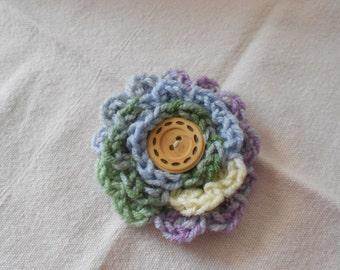 Flower Accessory Pin - Multi Color