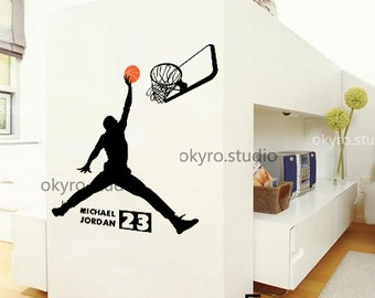 Popular items for michael jordan on etsy - Michael jordan bedroom decor ...