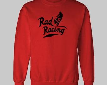RETRO Rad RACING 1980's BMX sweatshirt sweat shirt