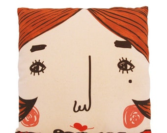 Tiger mom or Sweet mama, Family decorative pillow