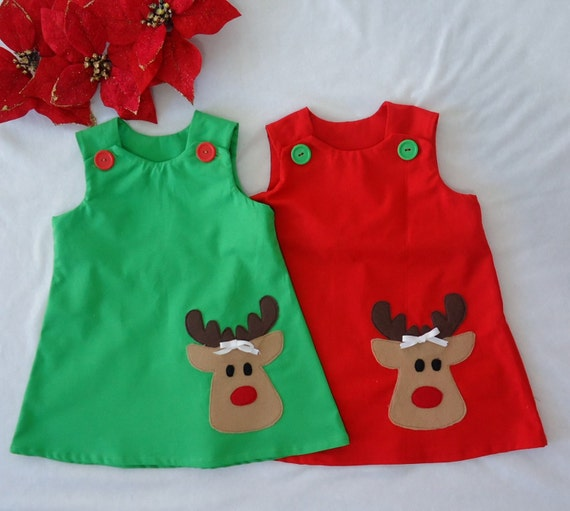 Baby girl dress toddler dress baby dress holiday dress christmas