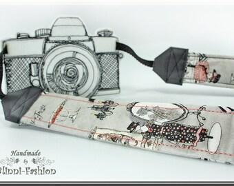 old fashion - Camera strap, DSLR, photografie, gray, black