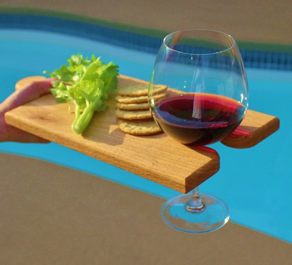 Wine Glass Cheese Tray Serving Tray / Wine Glass