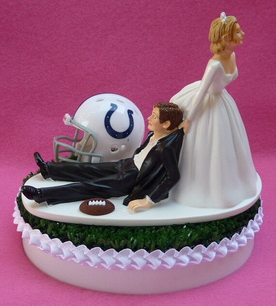 wedding cake places in indy wedding cake topper indianapolis colts indy football themed 23482