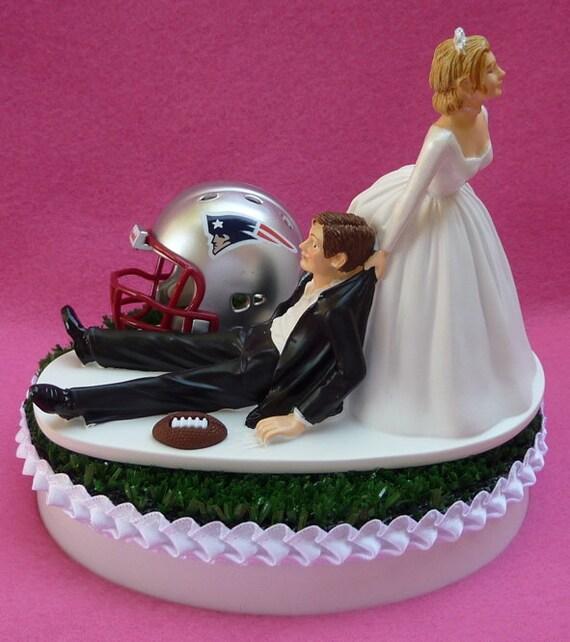 Wedding Cake Topper New England Patriots Ne Pats Football