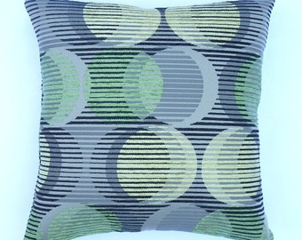 "Mid Century Modern design Accent Pillow -  17"" x 17"" with feather/down insert"
