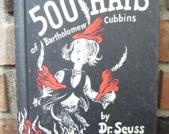 The 500 Hats of Bartholomew Cubbins - Dr. Seuss - Vintage Children's Books