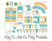 Printable Party Favors Package - Custom Matching