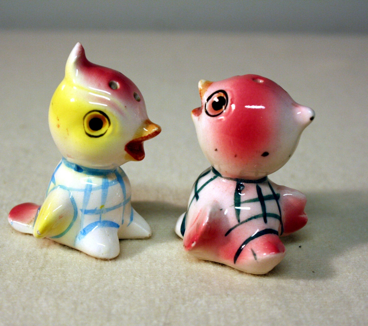 Tiny Birds Vintage Salt And Pepper Shakers Made In Japan Fun