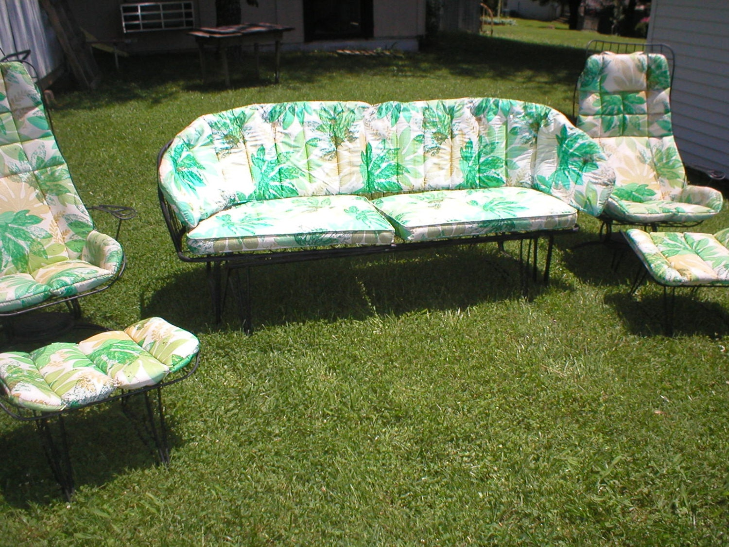 Vintage Homecrest Mid Century 5Pcs Patio Set