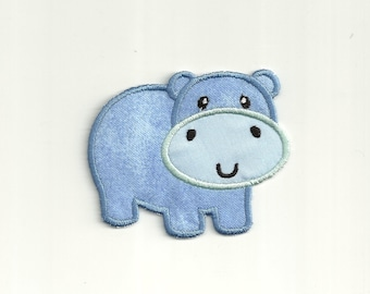 Baby Hippo Patch Custom Made! AP126