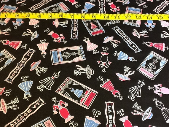 Pampered Girls Dress & Hat Fabric