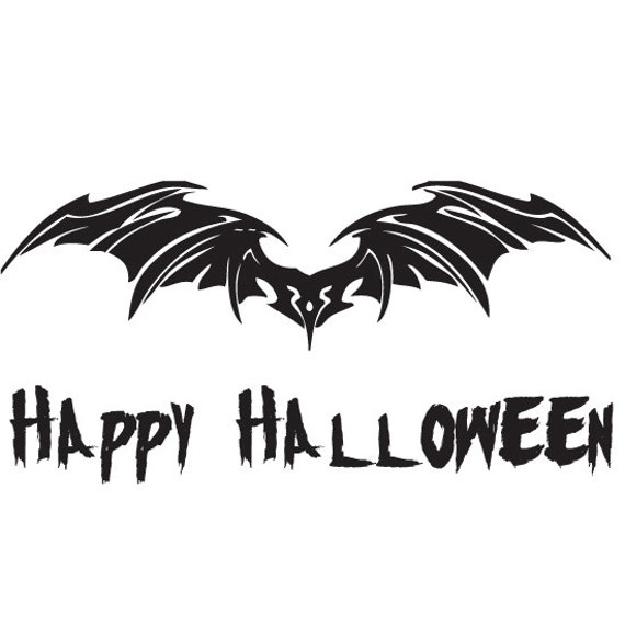 Halloween Bat Wall Decals