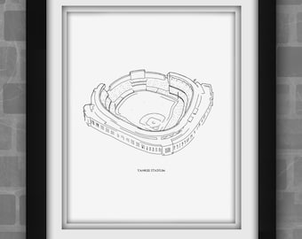 New York Yankee Stadium Print