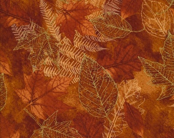 Harvest time is coming.  This fabric represents the fall colors.  You won't be disappointed in this fabric.