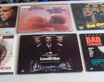 Laserdiscs Lot Of Nine LaserDisc Kafka Godfather Etc