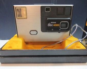 1982 Kodak Disc 4000 Camera With Telephoto Lens