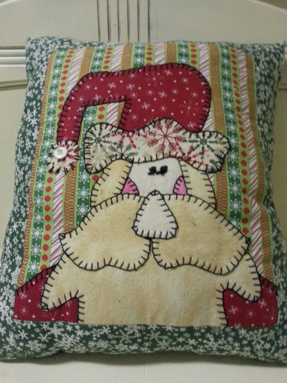 Needlepoint Pillow Decoration Crossword : Christmas Decorative Pillow, Christmas Needlepoint Pillow, Santa Decorative Pillow, Santa ...