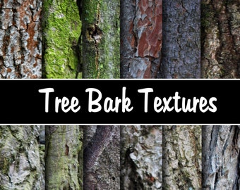 "Tree Bark Digital Paper Pack - Instant Download ""TREE BARK"" printable papers for scrapbooking, cardmaking, invites"
