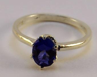Sapphire Birthstone ring size 8
