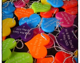 Personalised Wedding Favours / Favors by OoNaNA