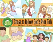 I Chose to Follow God's Plan Primary Talk - Downloadable File