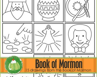 BOOK of MORMON I Can Draw Book