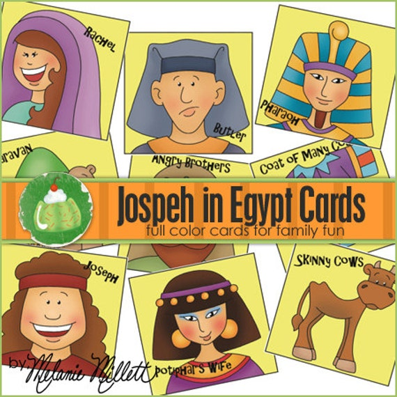Joseph Egypt Craft Joseph in Egypt Match Card