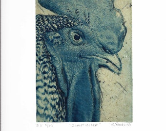 Etching / Solar Etching / Hand Pulled / Intaglio / Signed Fine Art Print