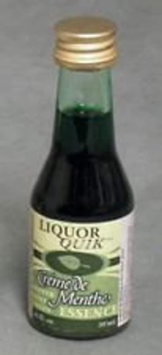Liquor Quik Creme de Menthe Essence Home Distilling Flavoring 20 ml