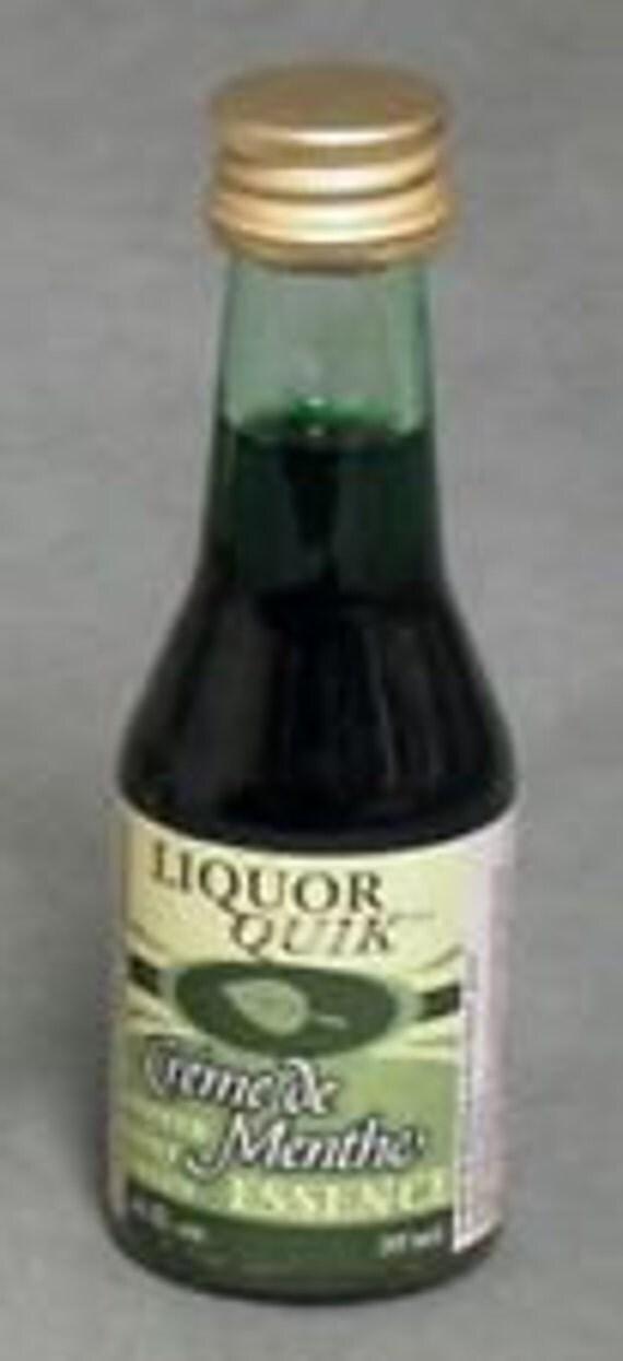 Liquor Quik Creme de Menthe Essence Home Distilling Flavoring 20 ml