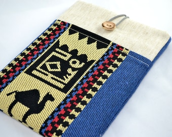 17 inch kilim Sleeve - Macbook  Pro, Custom Size for Your Laptop - Laptop Cover, Padded Sleeve Case